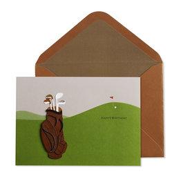 NIQUEA.D NIQUEA.D Golf Happy Birthday Card