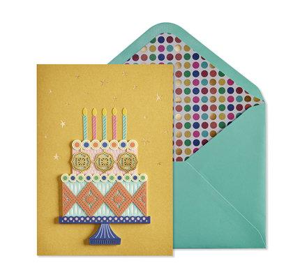 NIQUEA.D NIQUEA.D Birthday Cake Happy Birthday Card