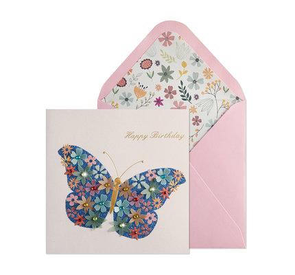 NIQUEA.D NIQUEA.D Butterfly Happy Birthday Card