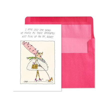 NIQUEA.D NIQUEA.D Accessorize Happy Birthday Card