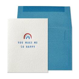NIQUEA.D NIQUEA.D Rainbow so Happy Friendship Card
