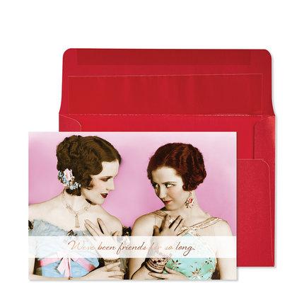 NIQUEA.D NIQUEA.D Two Women Humor Friendship Card