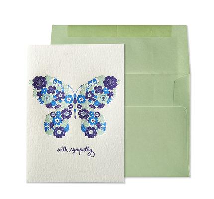 NIQUEA.D NIQUEA.D Butterfly Sympathy Card