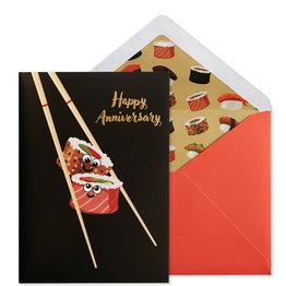 NIQUEA.D NIQUEA.D Sushi Anniversary Card