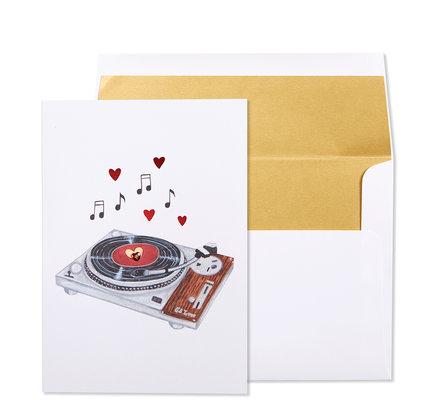 NIQUEA.D NIQUEA.D Love Vinyl Anniversary Card