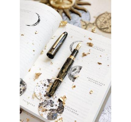 Esterbrook Esterbrook Estie Gold Rush Prospector Black Fountain Pen