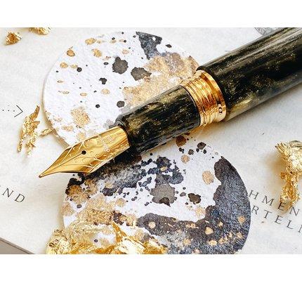 Esterbrook Esterbrook Estie Gold Rush Prospector Black Oversized Fountain Pen