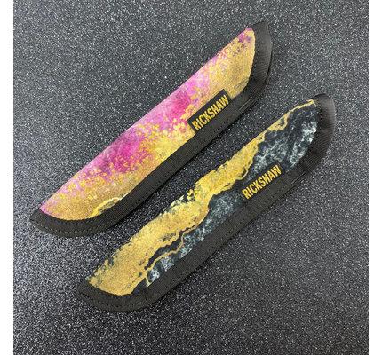 Rickshaw Dromgoole's Exclusive Black Marbled Pen Sleeve
