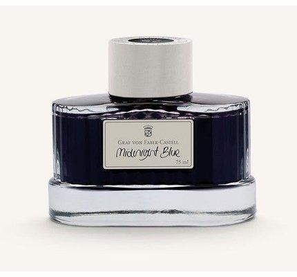 Faber-Castell Graf Von Faber-Castell Midnight Blue - 75ml Bottled Ink