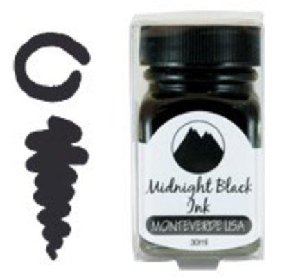 Monteverde Monteverde Midnight Black - 30ml Core Bottled Ink