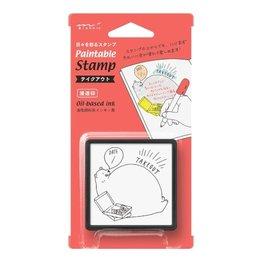 Midori Paintable Stamp- Take-Out