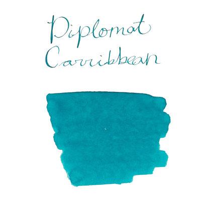 Diplomat Diplomat Bottled Ink Caribbean Turquoise - 30ml
