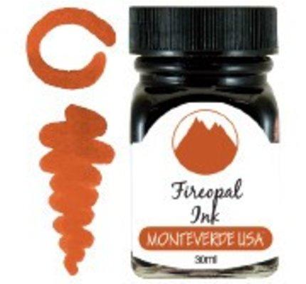 Monteverde Monteverde Fireopal - 30ml Gemstone Bottled Ink