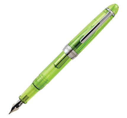 Monteverde Monteverde Monza ID Green Flex Nib Fountain Pen
