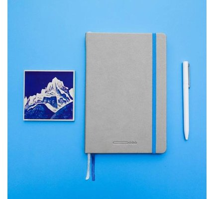 Endless Works Endless Works Recorder A5 Notebook - Mountain Snow
