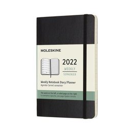 Moleskine Moleskine 2022 Pocket Softcover 12-Month Weekly Planner (3.5 x 5.5)