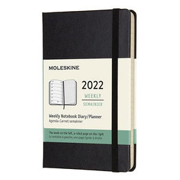 Moleskine Moleskine 2022 Pocket Hardcover 12-Month Weekly Planner (3.5 x 5.5)