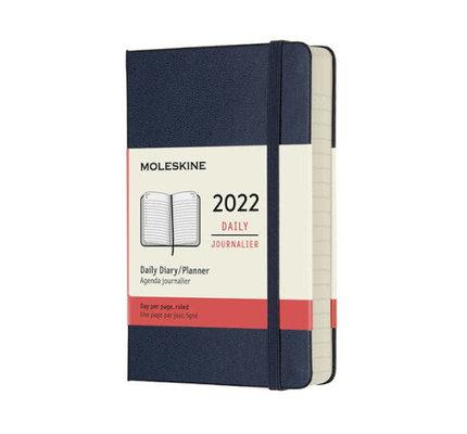 Moleskine Moleskine 2022 Pocket Hardcover 12-Month Daily Planner (3.5 x 5.5)