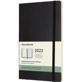 Moleskine Moleskine 2022 Large Softcover 12-Month Weekly Planner (5 x 8.25)