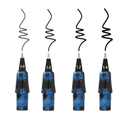 Yookers Yookers Gaia Fiber Pen Marble Blue-Black Replacement Tips