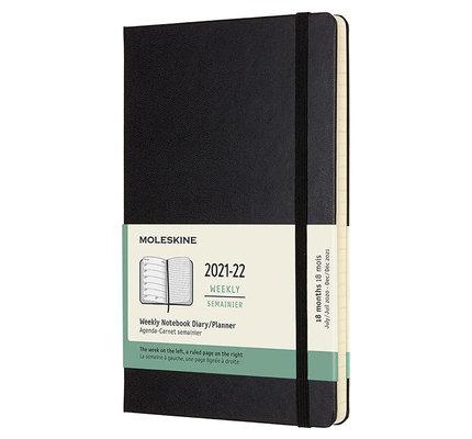 Moleskine Moleskine 2021-2022 Large Hardcover 18-Month Weekly Planner
