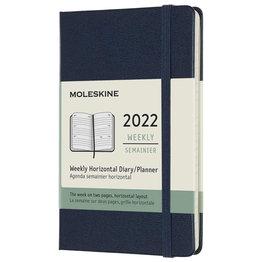 Moleskine Moleskine 2022 Pocket Softcover 12-Month Weekly Horizontal Planner Black (3.5 x 5.5)