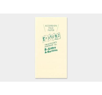 Traveler's Traveler's Notebook Regular Refill Accordion Fold Paper