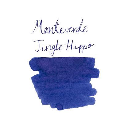Monteverde Monteverde Jungle Bottled Ink Hippo Dark Blue - 30ml