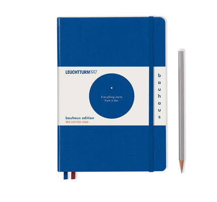 Leuchtturm1917 Leuchtturm1917 Bauhaus Medium Notebook (A5) Royal Blue