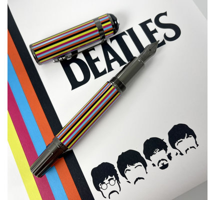 Montblanc Pre-Owned Montblanc Great Characters Special Edition the Beatles Fountain Pen Medium