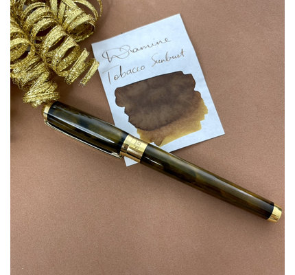 S. T. Dupont Pre-Owned S.T. DuPont Atelier Large Brown Fountain Pen