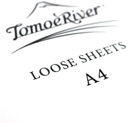 Tomoe River Paper Tomoe River Paper Loose Sheets A4 (68GSM) Blank White