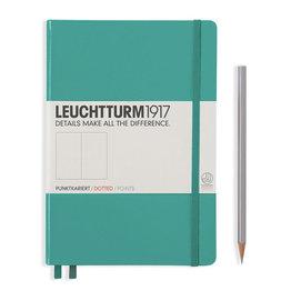 Leuchtturm1917 Leuchtturm1917 A5 Medium Softcover Notebook Emerald Dotted