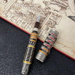 Montegrappa Montegrappa Limited Edition Dante Alighieri Inferno with Sterling Silver Trim Fountain Pen
