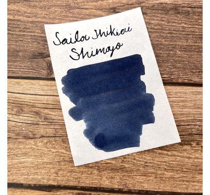 Sailor Sailor Shikiori Shimoyo Frosty Night (Color Of Four Seasons) - 20 mL Bottled Ink