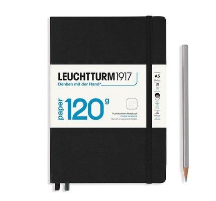 Leuchtturm1917 Leuchtturm1917 120g Edition Notebook - Black