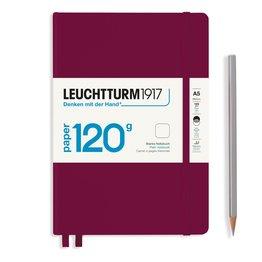 Leuchtturm1917 Leuchtturm1917 120g Edition Notebook - Port Red