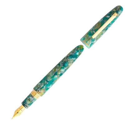 Esterbrook Esterbrook Estie Sea Glass with Gold Trim Fountain Pen