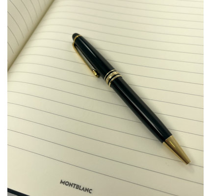 Montblanc Pre-Owned Montblanc Classique 164 Black with Yellow Gold Ballpoint