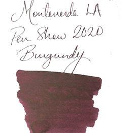 Monteverde Monteverde 2020 LA Pen Show Burgundy -  30ml Bottled Ink