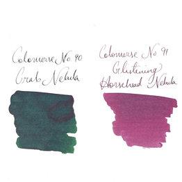 Colorverse Colorverse Season 7 Eye on the Sky Bottled Ink #90/91 Crab Nebula & Horsehead Nebula Glistening - 65ml + 15ml
