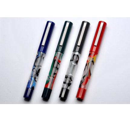 Opus 88 Opus 88 Flow Blue Fountain Pen