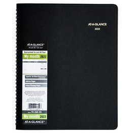 At-A-Glance 2022 2022 70-260 Monthly Planner (9x11)
