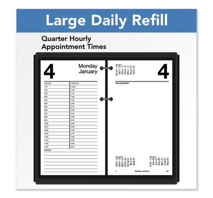 "At-A-Glance 2022 E210-50 Daily Calendar Refill (8"" x 4.5"")"