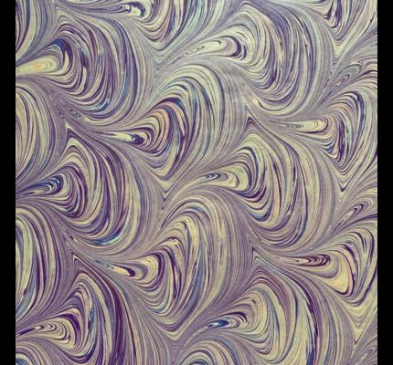 Wabi Sabi Stationers Wabi Sabi Pearly Purple Lined Notebook