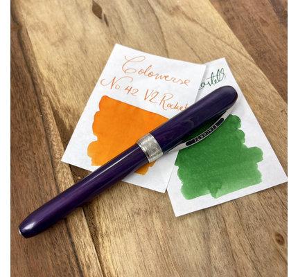 Visconti Pre-Owned Visconti Rembrandt Purple Fountain Pen Medium