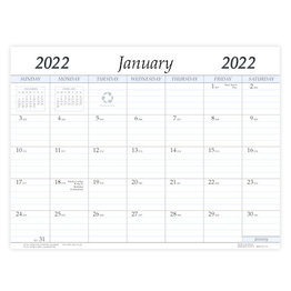 Payne 2022 VP-R Refill for VP-811 and VPM-811 Imprinted Vinyl Calendar Pads (8.5x11)