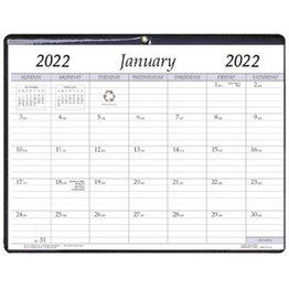 Payne 2022 VP-811 Vinyl Monthly Calendar Pad (8.5x11)