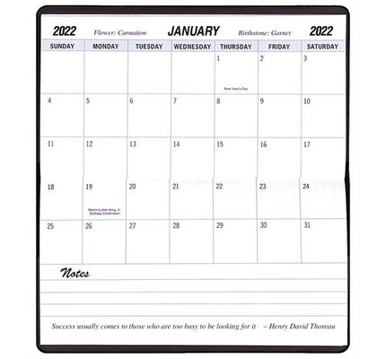 Payne 2022-2023 TYP-11 Skivertex Two-Year Monthly Pocket Planner (3.5x6.5)