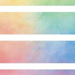 Kitta Kitta (Aurora) Rainbow Washi Tape